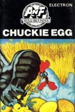 Chuckie Egg Cassette Cover Art