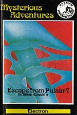 Escape From Pulsar Seven Cassette Cover Art
