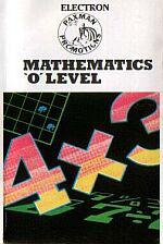 Mathematics 'O' Level Cassette Cover Art