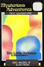 Ten Little Indians Cassette Cover Art