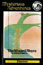 The Wizard Akyrz Cassette Cover Art