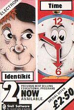 Identikit And Time Cassette Cover Art